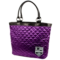 Los Angeles Kings NHL Quilted Tote (Purple)