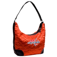 Washington Capitals NHL Quilted Hobo (Light Red)