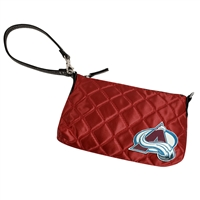 Colorado Avalanche NHL Quilted Wristlet (Dark Red)