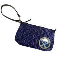 Buffalo Sabres NHL Quilted Wristlet (Navy)