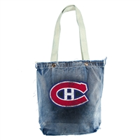 Montreal Canadiens NHL Vintage Denim Shopper
