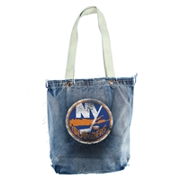 New York Islanders NHL Vintage Denim Shopper