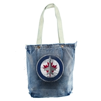Winnipeg Jets NHL Vintage Denim Shopper