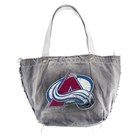Colorado Avalanche NHL Vintage Denim Tote