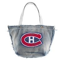 Montreal Canadiens NHL Vintage Denim Tote