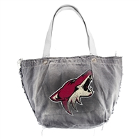 Arizona Coyotes NBA Vintage Denim Tote