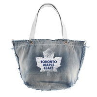 Toronto Maple Leafs NHL Vintage Denim Tote