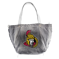 Ottawa Senators NHL Vintage Denim Tote