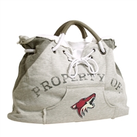 Arizona Coyotes NHL Property Of Hoodie Tote