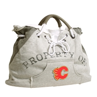 Calgary Flames NHL Property Of Hoodie Tote