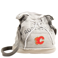 Calgary Flames NHL Property Of Hoodie Duffel