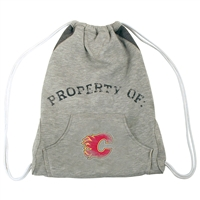Calgary Flames NHL Hoodie Clinch Bag