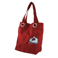 Colorado Avalanche NHL Color Sheen Tote (Dark Red)