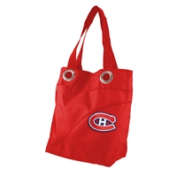 Montreal Canadiens NHL Color Sheen Tote (Light Red)