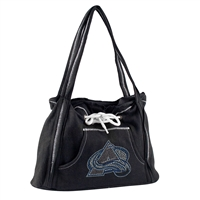 Colorado Avalanche NHL Sport Noir Hoodie Purse