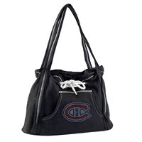Montreal Canadiens NHL Sport Noir Hoodie Purse