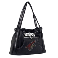 Arizona Coyotes NHL Sport Noir Hoodie Purse