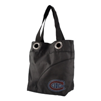 Montreal Canadiens NHL Sport Noir Sheen Tote