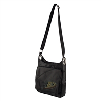 Anaheim Ducks NHL Sport Noir Sheen Cross-body