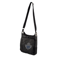 Toronto Maple Leafs NHL Sport Noir Sheen Cross-body