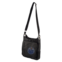 Edmonton Oilers NHL Sport Noir Sheen Cross-body