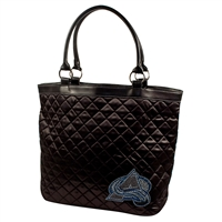 Colorado Avalanche NHL Sport Noir Quilted Tote