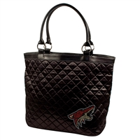 Arizona Coyotes NHL Sport Noir Quilted Tote