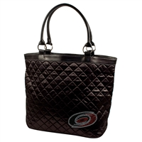 Carolina Hurricanes NHL Sport Noir Quilted Tote
