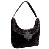 Toronto Maple Leafs NHL Sport Noir Quilted Hobo
