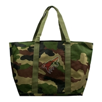 Arizona Coyotes NHL Camo Tote
