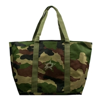 Dallas Stars NHL Camo Tote