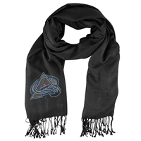 Colorado Avalanche NHL Black Pashi Fan Scarf