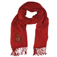 Ottawa Senators NHL Pashi Fan Scarf (Light Red)