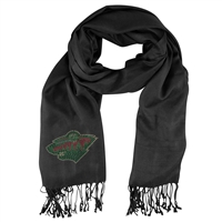 Minnesota Wild NHL Black Pashi Fan Scarf