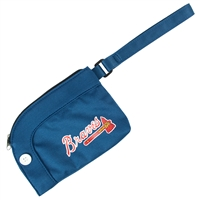 Atlanta Braves MLB Stadium Wristlet