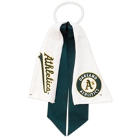 Oakland Athletics MLB Ponytail Holder