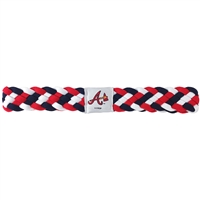 Atlanta Braves MLB Braided Head Band 6 Braid