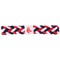 Boston Red Sox MLB Braided Head Band 6 Braid