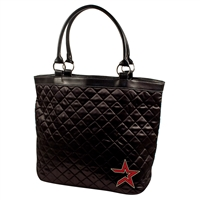 Houston Astros MLB Quilted Tote (Black)