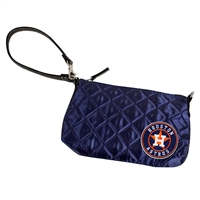 Houston Astros MLB Quilted Wristlet (Navy)