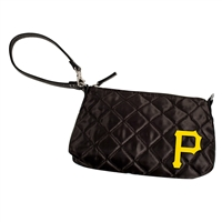 Pittsburgh Pirates MLB Quilted Wristlet (Alternate)