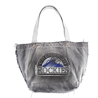 Colorado Rockies MLB Vintage Denim Tote