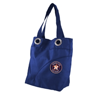 Houston Astros MLB Color Sheen Tote (Navy)
