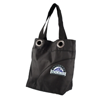 Colorado Rockies MLB Color Sheen Tote (Black)