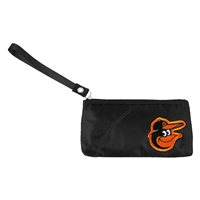 Baltimore Orioles MLB Color Sheen Wristlet (Black)