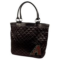 Arizona Diamondbacks MLB Sport Noir Quilted Tote
