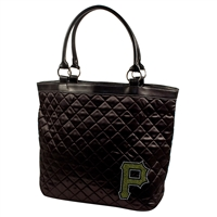 Pittsburgh Pirates MLB Sport Noir Quilted Tote