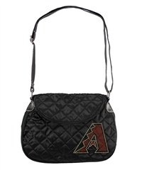 Arizona Diamondbacks MLB Sport Noir Quilted Saddlebag