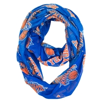 New York Knicks NBA Sheer Infinity Scarf