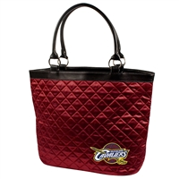 Cleveland Cavaliers NBA Quilted Tote (Dark Red)